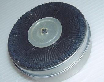 SALE-Retro Typewriter Ring Box Trinket Box- Daisy Wheel Jewelry- 3 inch