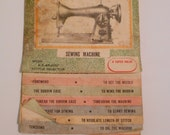 Precision sewing manual