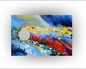 Abstract - Chicago Jazz  No.3 - 24 x 36 - Skye Taylor
