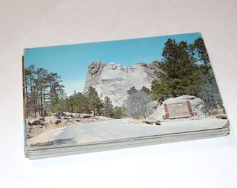 100 Vintage South Dakota Chrome Postcards Blank - Wedding Guestbook
