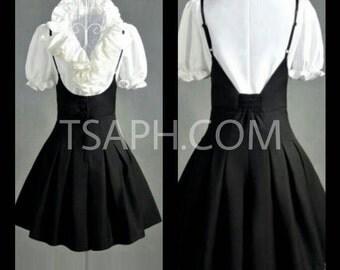 Speghetti Strap Flared Dress