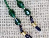 Emerald Green Glasses Leash Peeper Keeper GL1811