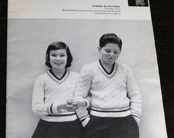 Youth Teen Tween Sweater Pattern Books 1950 Columbia Minerva Boys Girls - B5