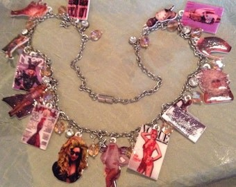 Lady Gaga Necklace And Earring Set