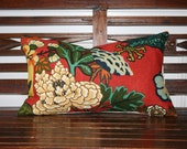 Decorative Pillow Cover- 12x20- Chiang Mai Dragon by F. Schumacher-lacquer