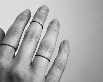 Simple ring - stacking ring or knuckle ring