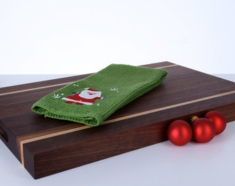 Black Walnut and Maple Cutting Board and Serving Board