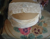 Hollywood regency vintage lace trim yards and yards