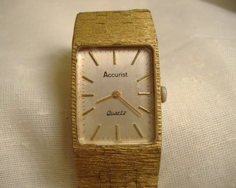 Vintage 1970s Accurist Quartz Watch