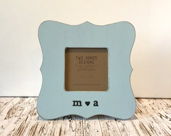 Engagement Picture Frame, Wedding Picture Frame, Personalized Frame, Love Frame, Custom Picture Frame