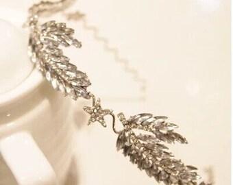 Marquise Crystal Wreath Headband