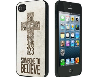 iPhone 4/4S case, iPhone 5/5S Case, iPhone 6, Psalms 23