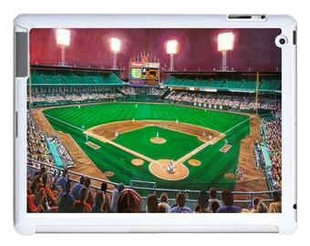 iPad 2/3/4 - iPad Mini - snap on plastic case - Baseball Park Art