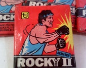 ROCKY II Trading Cards