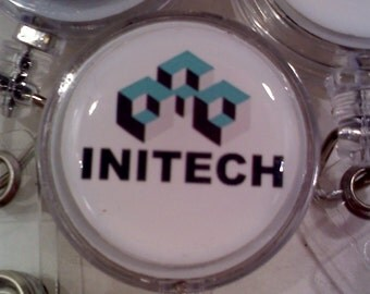 Office Space Initech Retractable ID Badge Holder