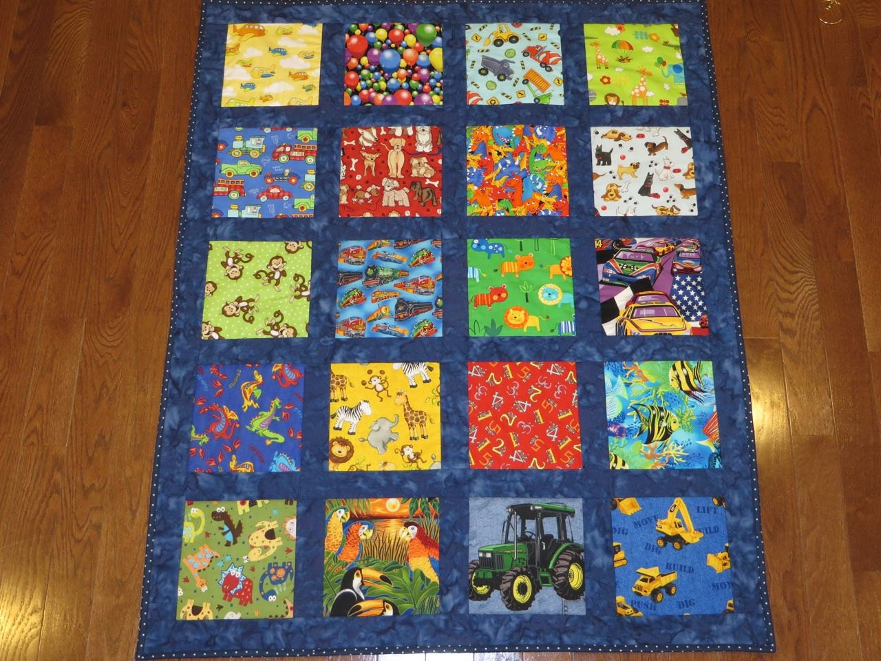 Pattern For I Spy Quilt Or Any Theme With Sashing Baby