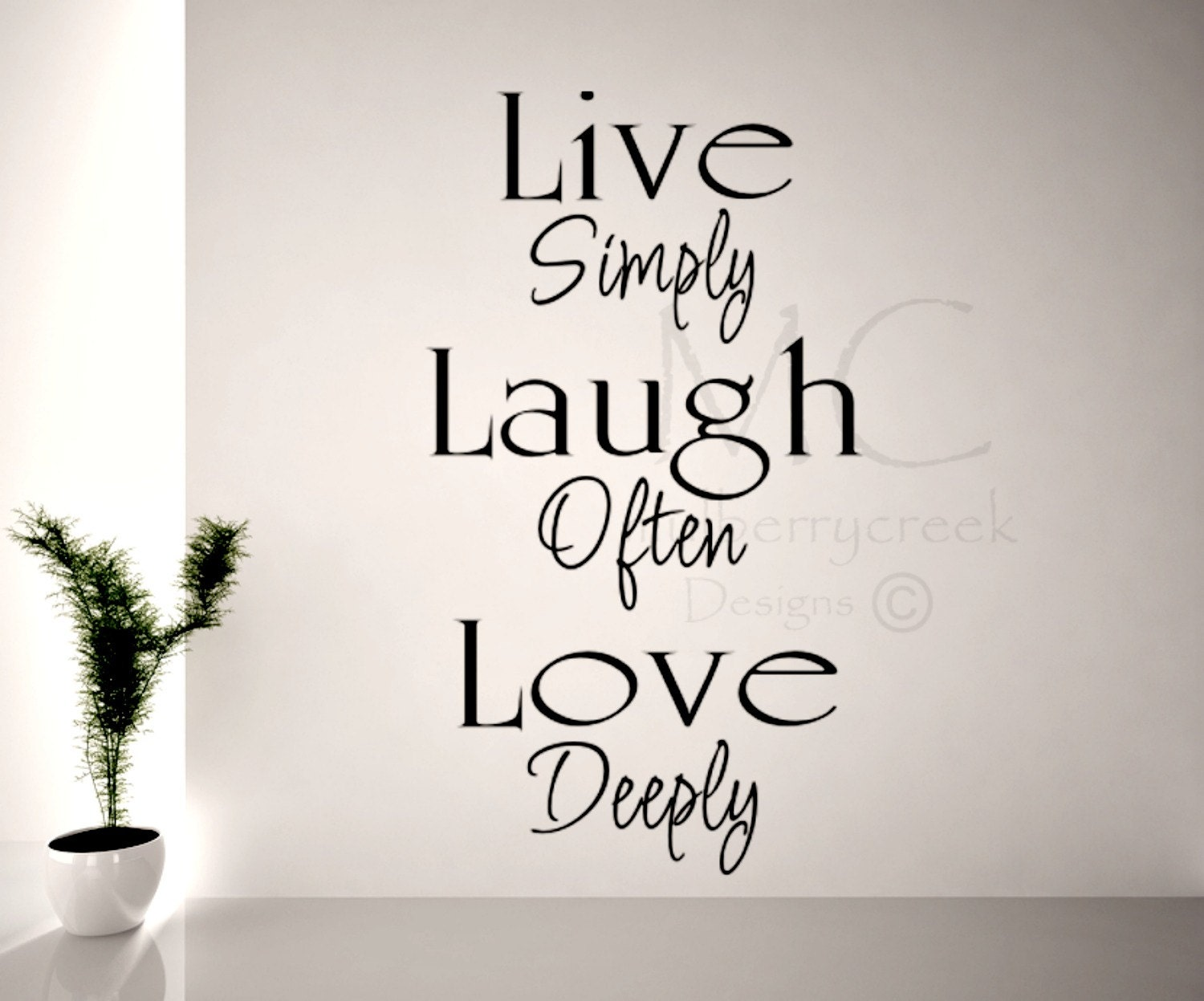 Live Laugh Love Wall Decal Decal For Family Room Live