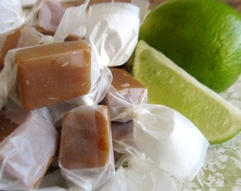Salted Key Lime Caramels - 2 lbs.