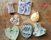 SUPER SALE / Ceramic Pendant Set (12-29-173)