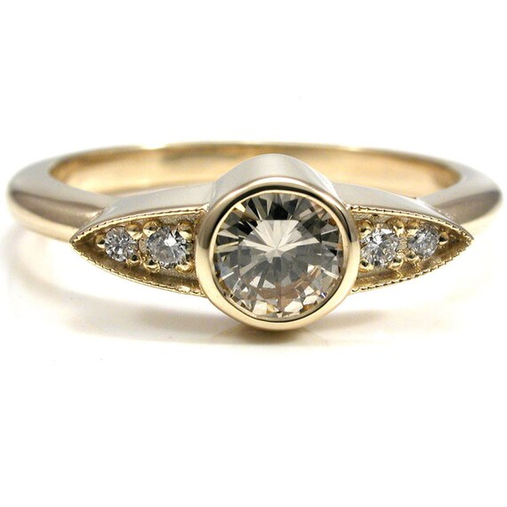 items similar to modern minimalist deco ring