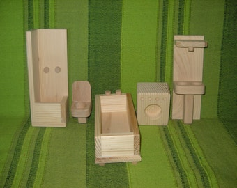 Bathroom furniture waldorf toys