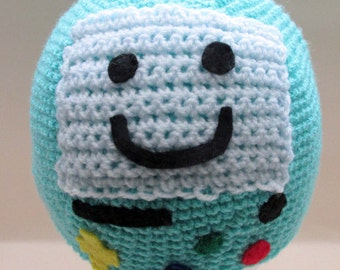 Crochet BMO/Beemo from Adventure Time Beanie Hat