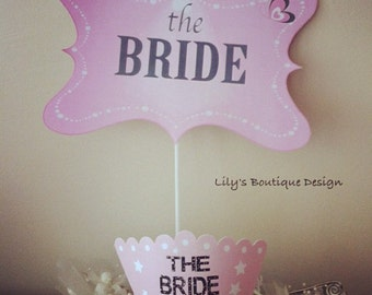 The Bride Crown & Photo Booth Prop