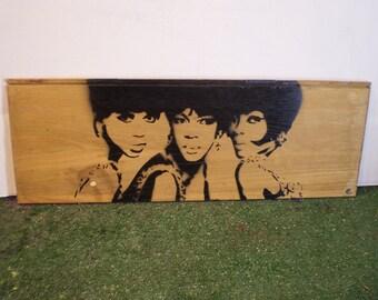 The Supremes (wood)