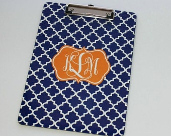 Personalized Teacher Gift - Monogrammed Clipboard - Personalized Clipboard - Custom Clip board - Coworker - Coach - Office Gift