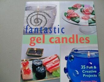 "craft book ""Fantastic Gel Candles"""