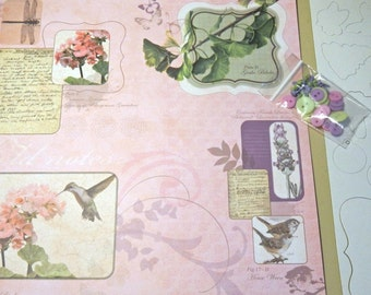 Scrapbook Paper Kit-Pastel-110 pcs.