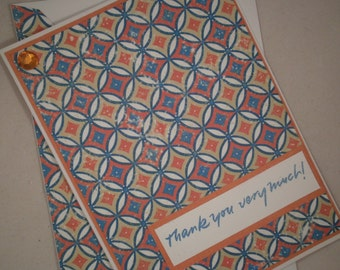 Thank You Cards, Note Card Set, Blank Note Cards, Set of Thank You Note Cards, Stationery