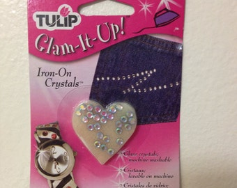 Sparkling Aurora Borealis Iron On Crystals ~ Glam It Up ~ By Tulip ~ You Get 25 Per Order