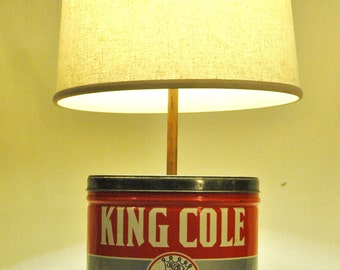 Tin lamp   Etsy