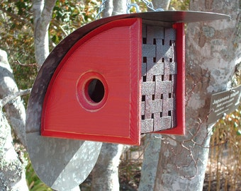 MODERN Birdhouse | Outdoor Birdhouses | Unique Bird Houses