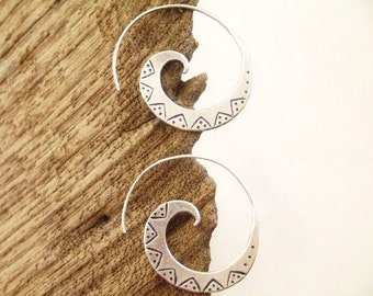 Silver earrings-The Silver One (9)