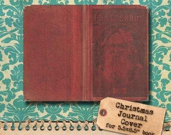 Vintage Saint Nick Printable Journal Cover