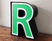 R - Reclaimed vintage letter