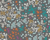 LAST PIECE Indelible Floret Stains in Mulberry, Katarina Roccella, Art Gallery Fabrics, 100% Cotton Fabric, IDL-2224
