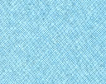 Architextures Crosshatch in Niagara, Carolyn Friedlander, Robert Kaufman Fabrics, 100% Cotton Fabric, AFR-13503-337 NIAGARA
