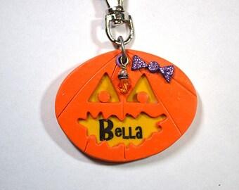 Halloween Pumpkin Custom Dog Tag / Pet Tag / I.D. Tag - Charity Fundraiser!