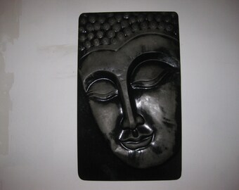Large Concrete BUDDHA Plaque
