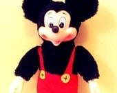 Vintage Mickey Mouse Doll 1950s