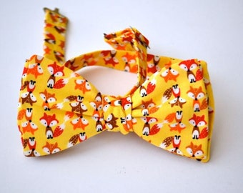 Mens Freestyle Fox Bowtie