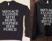 Star Wars Sweatshirt - Made in USA - by So Effing Cute