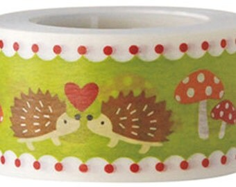 Hedgehog Washi Tape (25mm X 15M)
