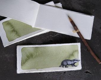 """Original Sketchbook """"Badger Journey Journal"""""""