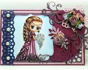 Handmade Greeting Card - Princes