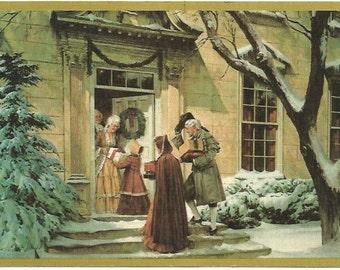 Vintage Readers Digest Christmas Gift Postcard 1970s 1980s