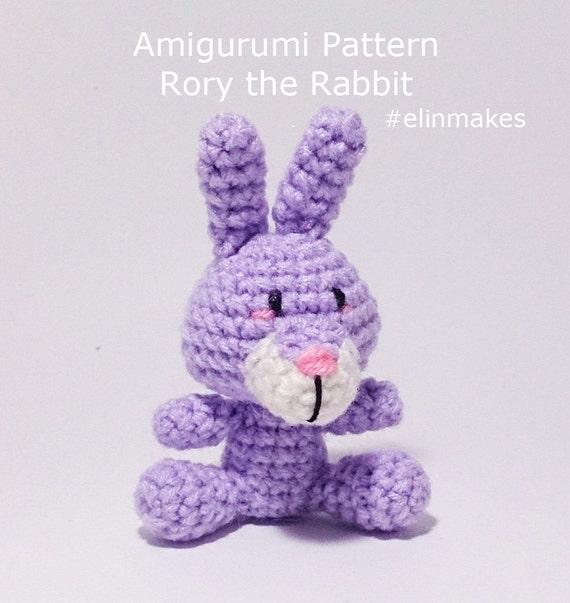 Amigurumi Pattern: Rory the Rabbit Zodiac Rabbit Year of the